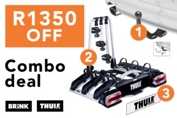 Towbar + 3-Bike Rack Combo Deal – FREE fitment SAVE R1350
